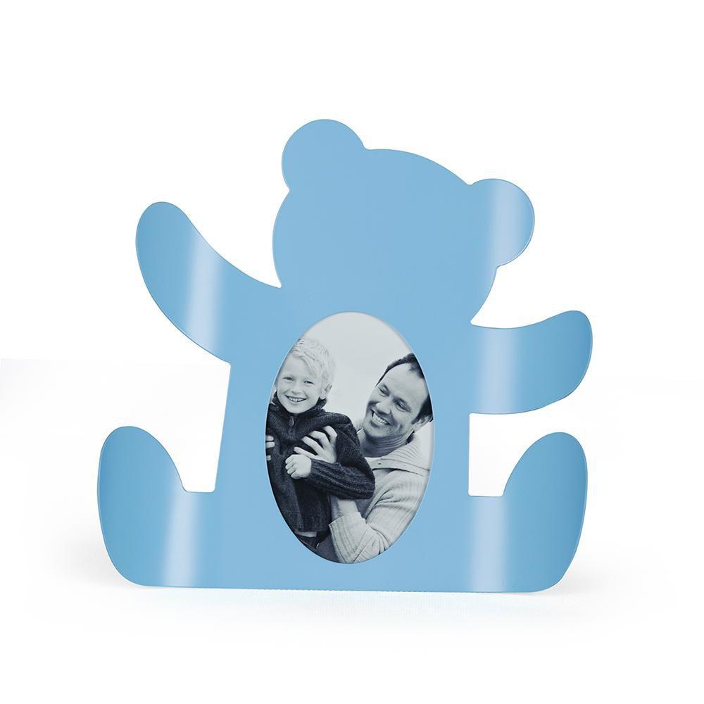 Porta Retrato Urso Azul
