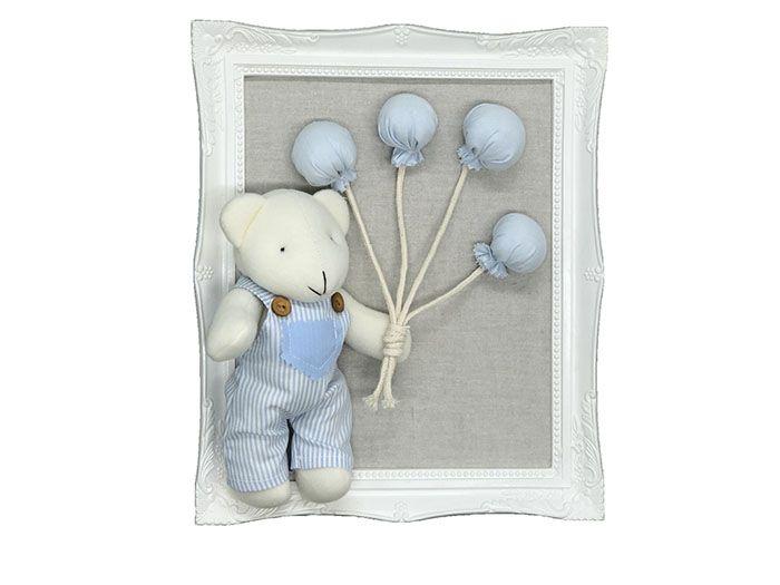 Quadro Urso Balões