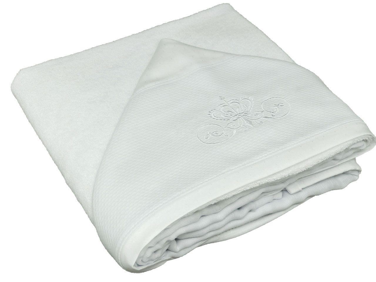 Toalha de Banho Capuz Branca