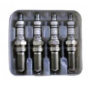 Jogo 4 Velas de Ignição SP10 - HR7M+U- F000KE0P10 Bosch Ford Zetec Rocam/Fiesta/Focus /Ka/ Divs aplics