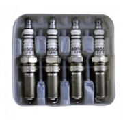 Jogo 4 Velas Ignição SP22 - HR7D+X - F000KE0P22 - Bosch Fiesta/Ka 1.3/Courier