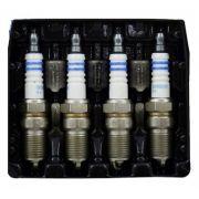 Jogo  4 Velas Ignição SP24 - FR8ME+ - F000KE0P24 - Bosch Peug  206 1.6/2.0/Picasso/C4 2.0 16V
