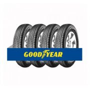 Kit com 4 Pneus Goodyear Aro 16 Efficient Grip Suv 205/60 92H