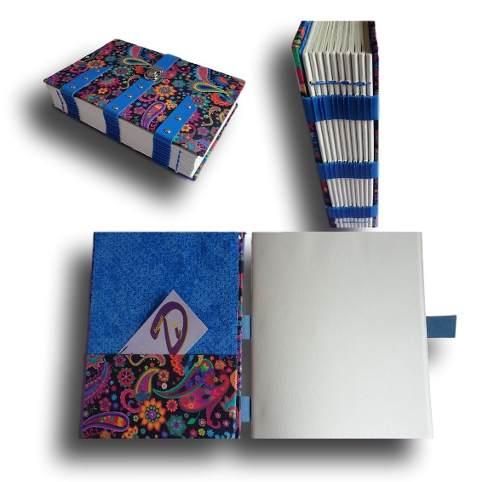 Caderno com tira de couro A5 300 Folhas