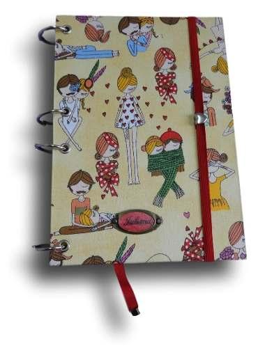 Caderno Argolado Fichário A5 200 Folhas