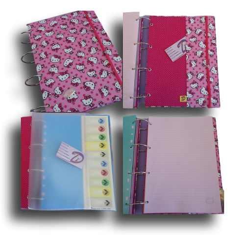 Caderno Argolado Fichário A4 10 Div. 300 folhas
