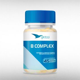 B-COMPLEX 400 MG (45CAPS) - GLOBAL SUPLEMENTOS