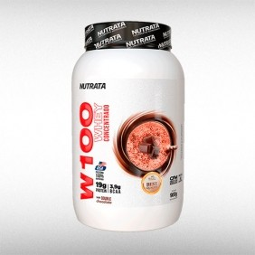 W100 WHEY CONCENTRADO (900G) - NUTRATA