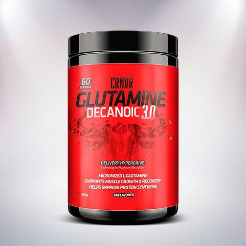 GLUTAMINE DECANOIC 3.0 300GR  - BRASILVITA