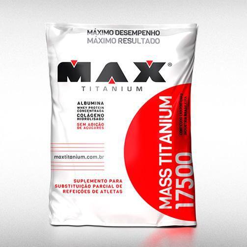 MASS TITANIUM 17500 (3KG) - MAX TITANIUM  - BRASILVITA