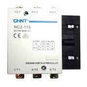 Contator Chint 3P NC2-115 220VCA 200A AC1