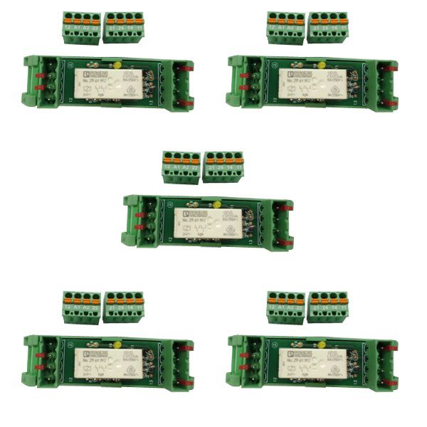 ACOPLADOR RELE 24VCC 2REV 6A CONECTOR ENTRADA SUP