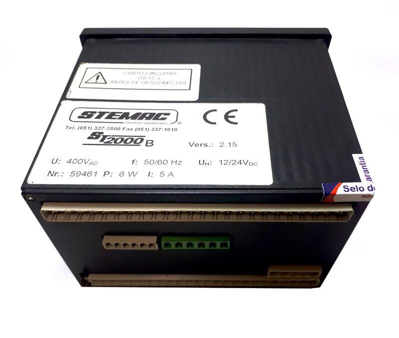 Controlador Grupo Gerador ST2000B 12/24V V2.15