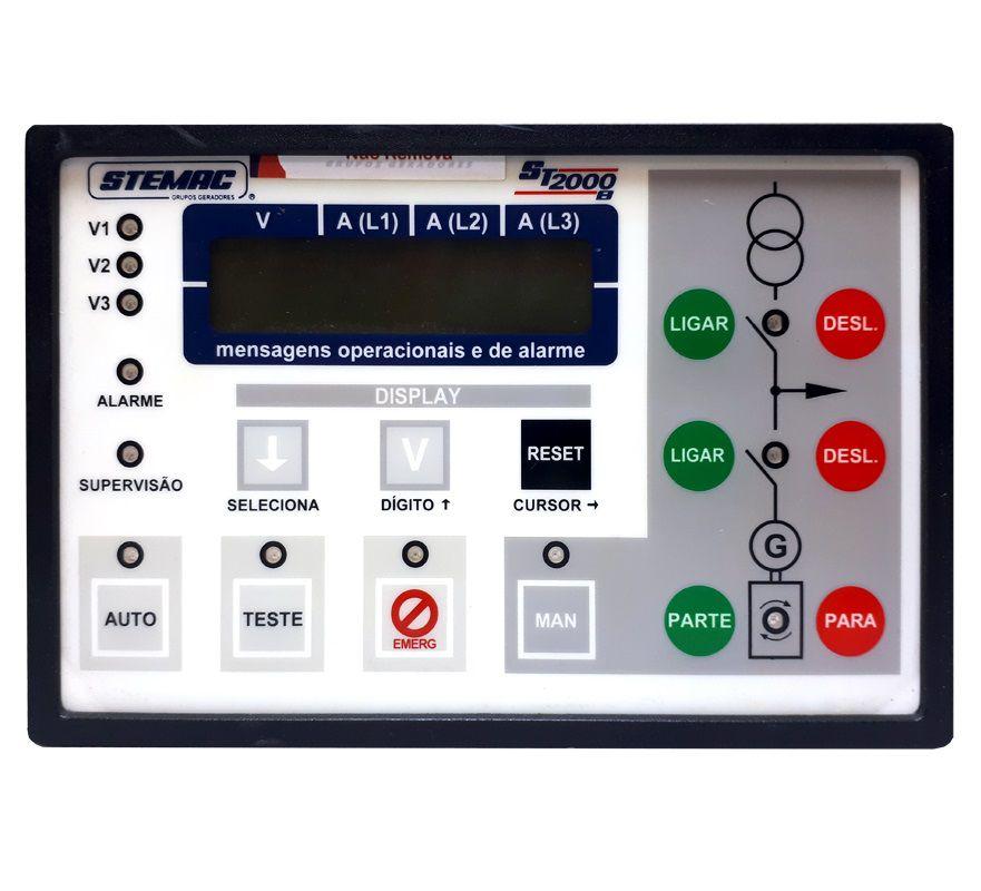 Controlador Grupo Gerador ST2000B 12/24V V2.16