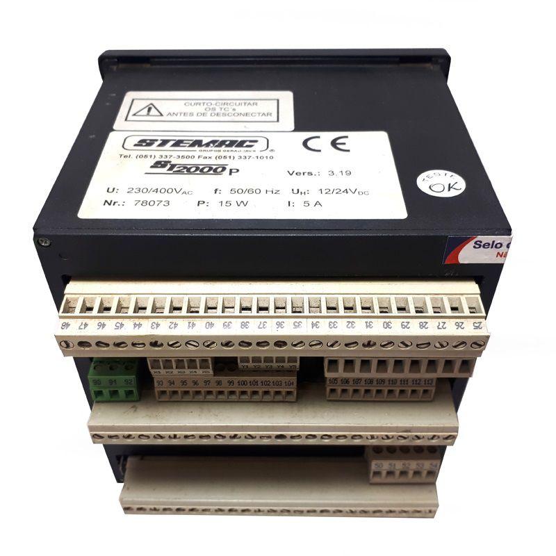Controlador Grupo Gerador ST2000P 12/24 V3.19
