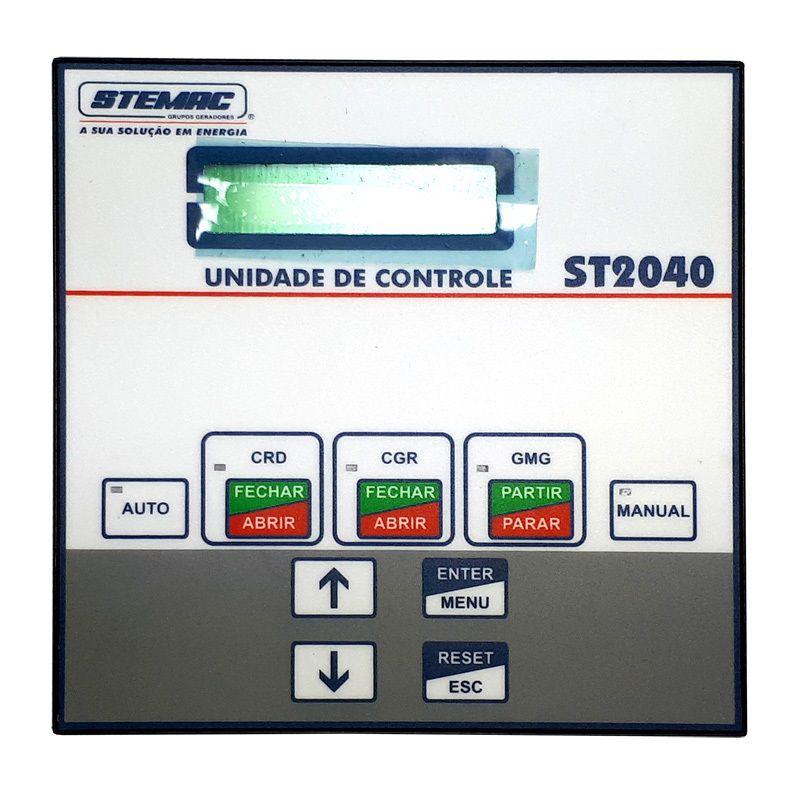 CONTROLADOR GERADOR ST2040 PT 8-30VCC V1.10