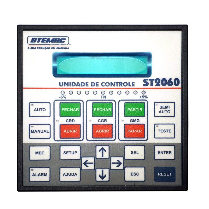 CONTROLADOR GERADOR ST2060 PT 8-30VCC V1.10