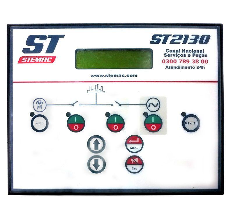 Controlador Grupo Gerador ST2130 9-30VCC