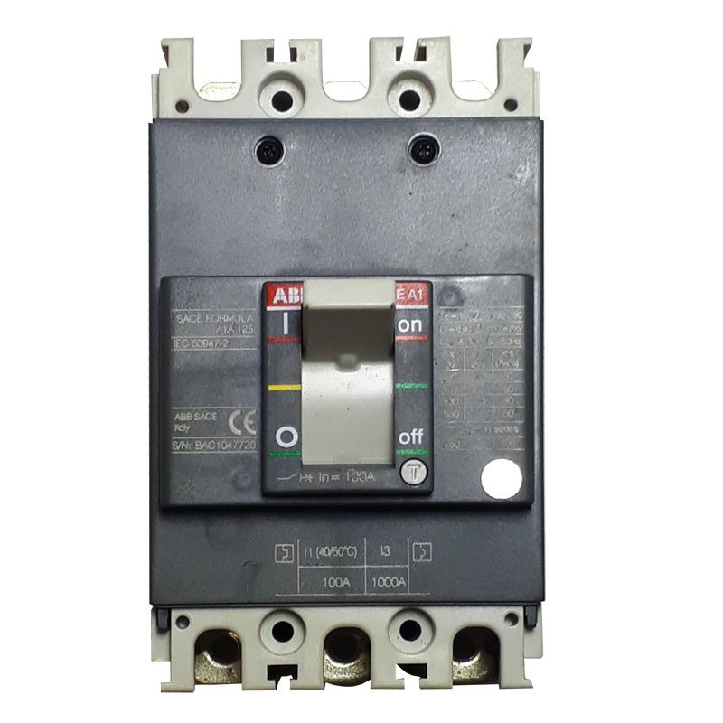 Disjuntor ABB 3P FIX MANUAL  A1A 125 100A