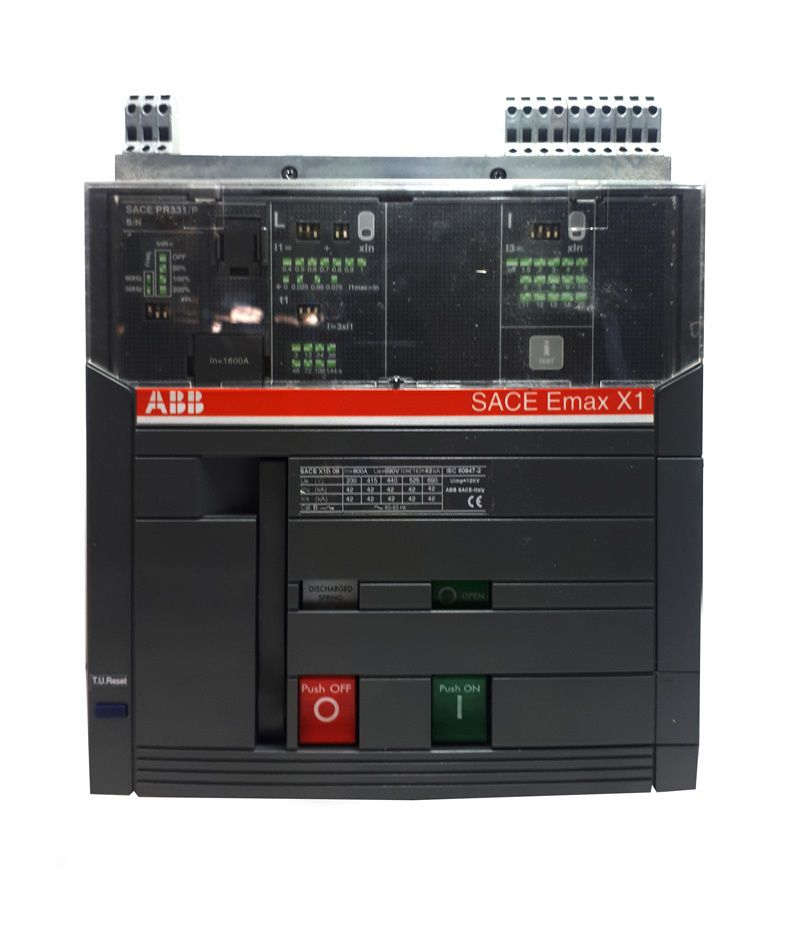 Disjuntor ABB 3P FIX MOT 220VCA X1B 1600A LI