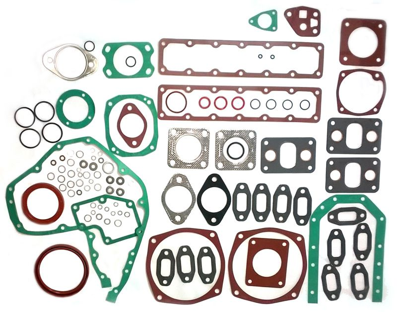Kit Junta Inferior Completa S/ Junta Cárter Motor MWM D229-6