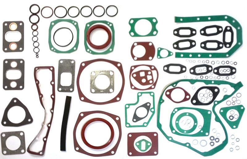 Kit Junta Inferior S/ Junta cárter S/ Retentor Motor MWM D229-3 / D229-4