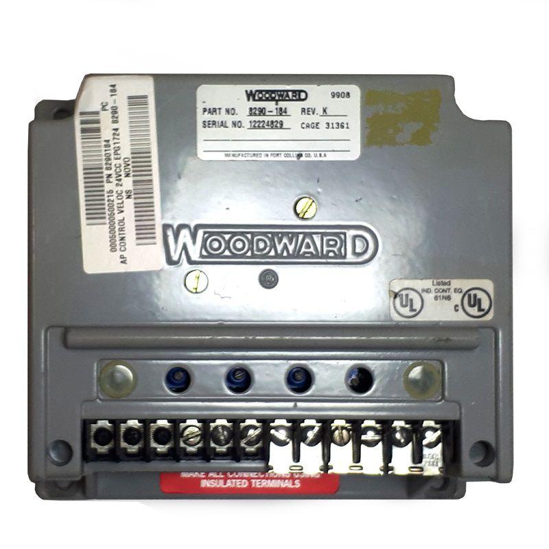 Regulador de Velocidade WOODWARD