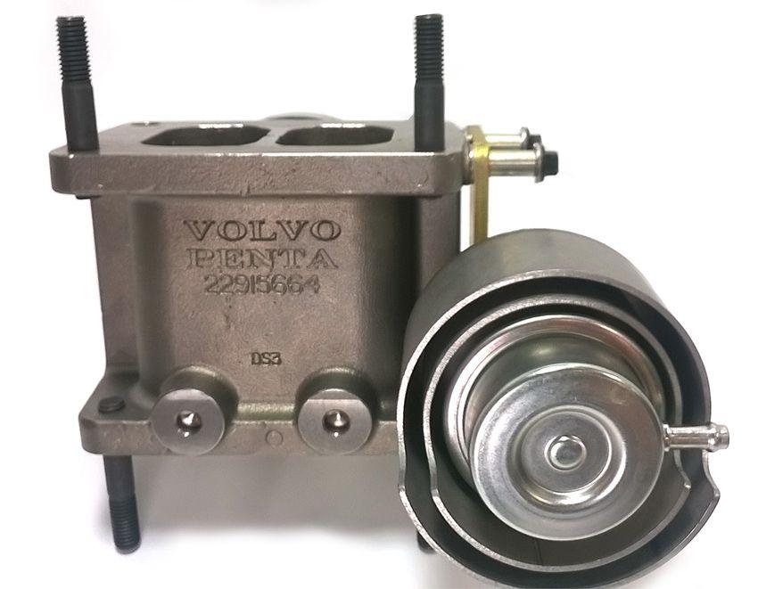 VALVULA WASTEGATE TURB MOTOR VOLVO TWD1643GE