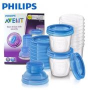 Potes para Armazenamento Leite e Alimentos - Philips Avent