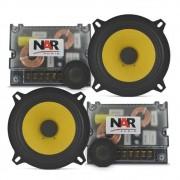 Kit 2 Vias Nar Audio 525 Cs3 Kevlar 5 Pols 120w Rms