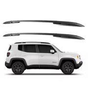 Longarina Rack Teto Jeep Renegade 2016 A 2019 Preto