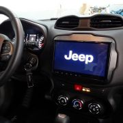 Multimídia Caska Navpro Android Todos Jeep Renegade 9´´touch