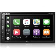 "Multimidia Dvd 6,8"" Pioneer Avh-z5280tv Waze Youtube"