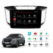 "Multimídia Hyundai Creta PCD 2018 a 2020 Tela 10"" Android Winca"