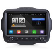 Multímidia M1 Jeep Renegade PCD Android 8.0 GPS Espelhamento Tv Full HD