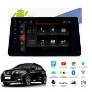 "Multimídia Nissan Kicks PCD 2017 a 2020 Tela 10"" Android Winca"