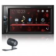 """Multimídia Receiver Pioneer DMH-G228BT 6,2"""" Bluetooth Usb Câmera de ré"""