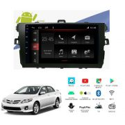 "Multimídia Toyota Corolla 2008 a 2013 Tela 9"" Android Winca"