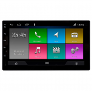 Multimídia Universal Aikon Tela 7'' Android Gps Câmera de ré TV FULL