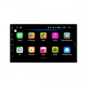 Multimídia Universal Tela 7'' Android 9.0 Gps Câmera de ré e Frontal TV Digital 2GB Aikon