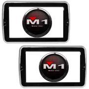 Par De Telas Para Dvd De Encosto Automotiva M1 Lcd 9 Hdmi