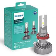 Par Lâmpada Philips Led Fog Ultinon 6200k H8 H11 H16 +160%