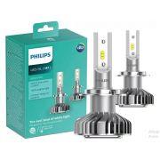 Par Lâmpadas Philips Led Ultinon H7 Luz Branca 6200k