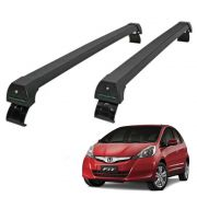 Rack de Teto Travessa Honda Fit 2009 a 2014 Alumínio Long Life