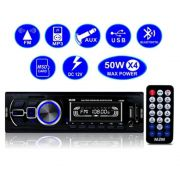 Radio Automotivo Bluetooth Auto Rádio Som Carro Mp3 Usb Fm