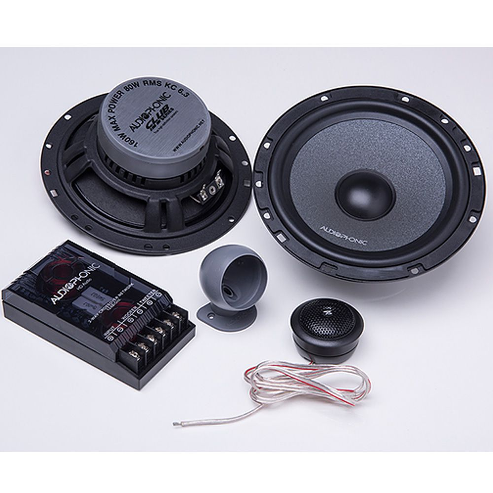 Alto Falante Kit 2 Vias Club Kc 6.3 Audio Phonic
