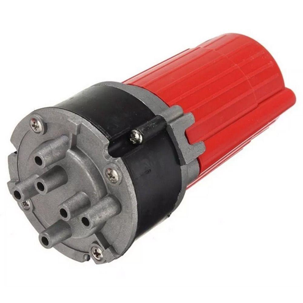Buzina Ar C/ Compressor 12v 5 Cornetas Dixie Cromada