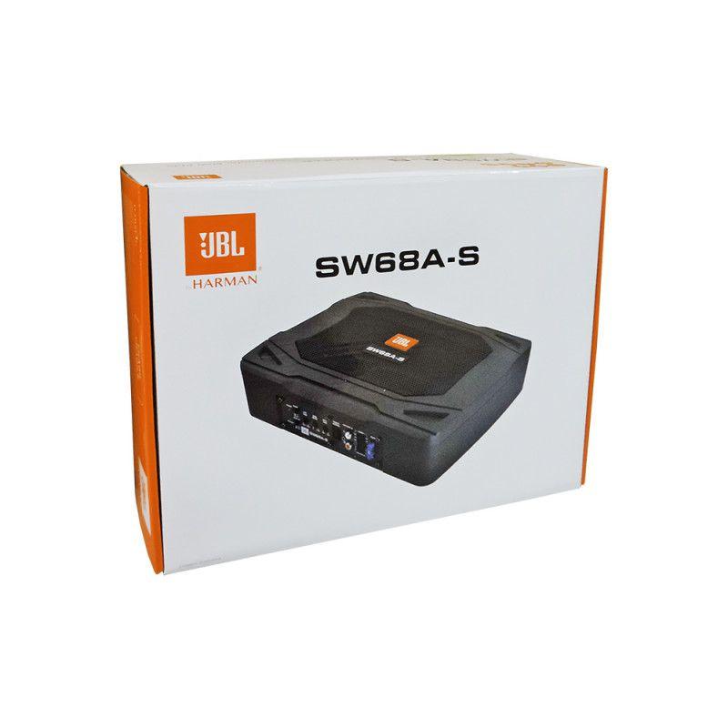 Caixa Amplificada Slim Jbl Sw68a-s Subwoofer 80Wrms JBL