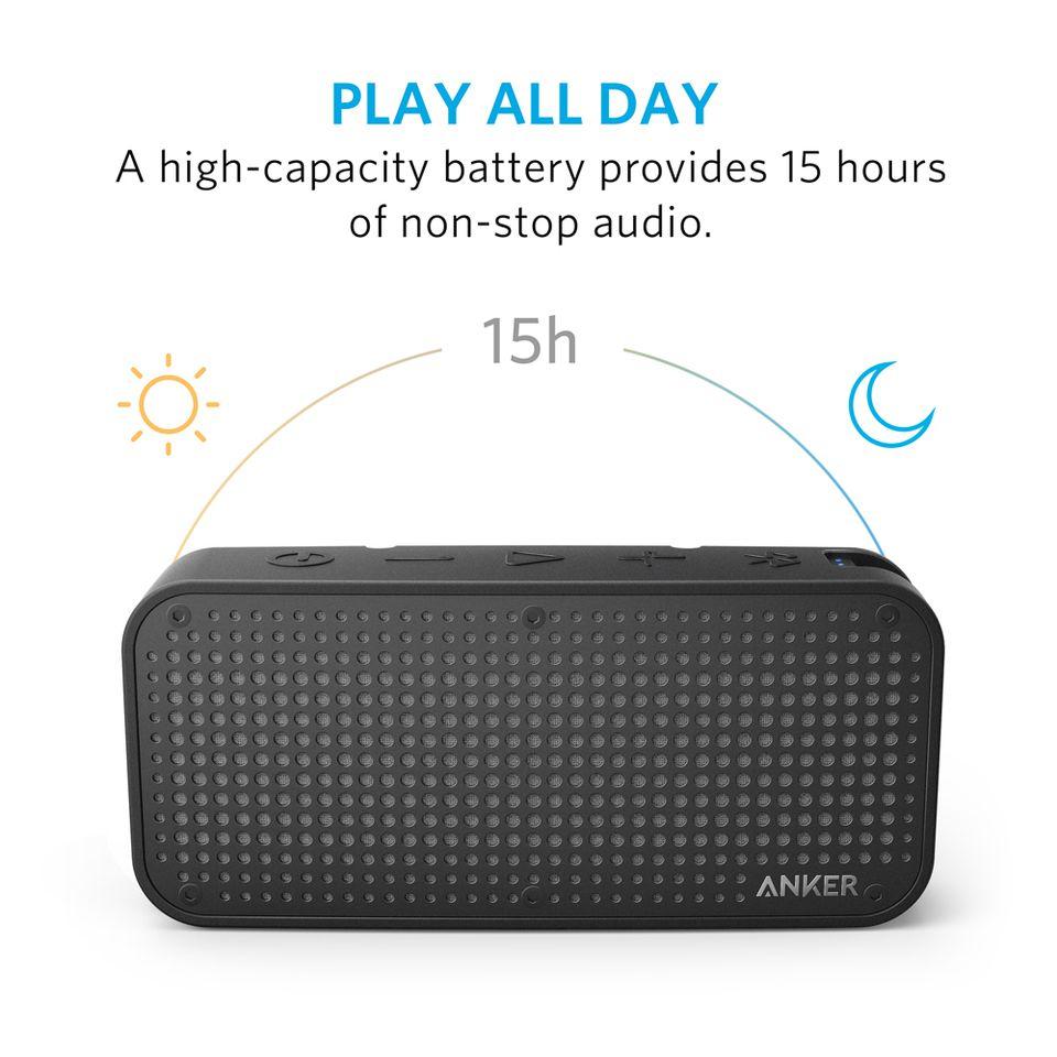 Caixa De Som Portátil Anker Soundcore Sport Xl Bluetooth
