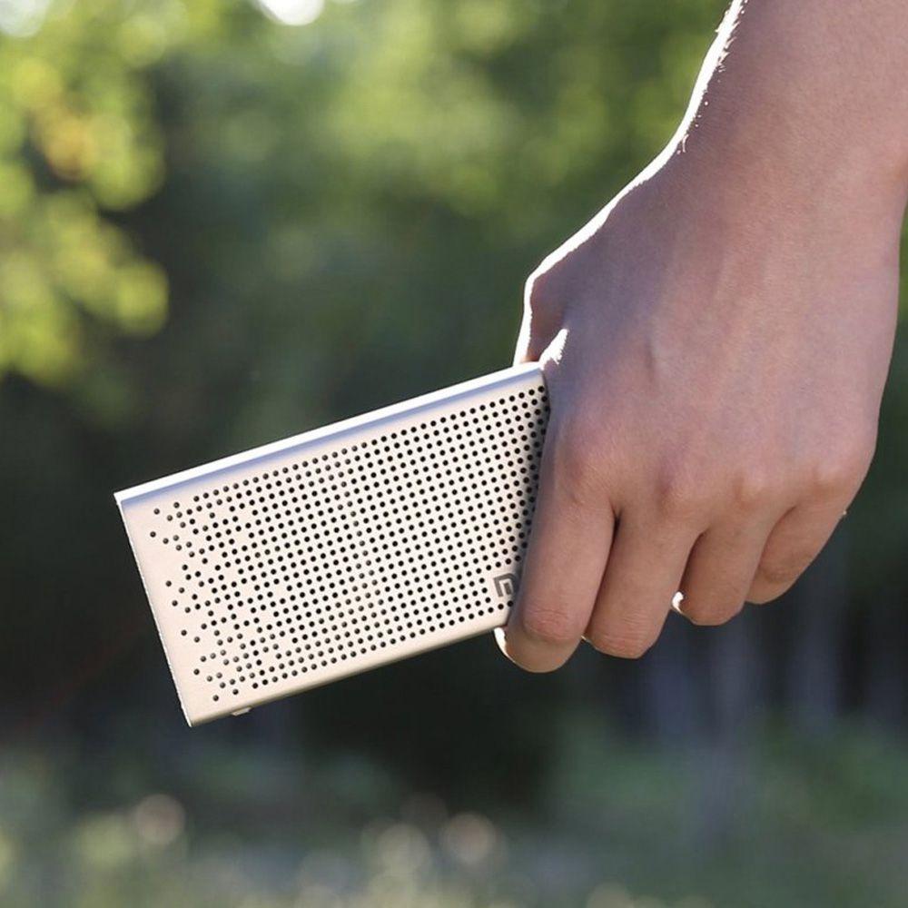 Caixa De Som Speaker Xiaomi Mi Bluetooth Mdz-26-db Dourado